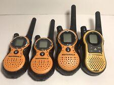 Motorola Walkie Talkies Set Of 4