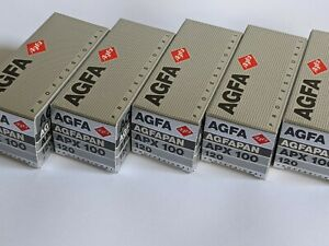 Agfa AGFAPAN APX 100 Professional 120 Format Black & White Film - 5-Roll Pack