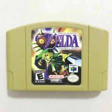 The Legend of Zelda Majora's Mask Master Quest Video Game Card for N64
