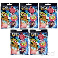 "New 5 PACKS Furby Boom Blind Bag Eggs 2"" Mini Figures Mystery Official"