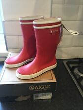 Reduced from £29.95 to £14.95 Aigle Kids Lolly Chelsea Boots Navy