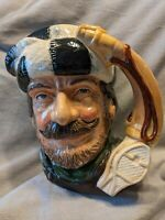 "The Trapper, D6612, H:7.25"", Vintage Royal Doulton Character Jug"