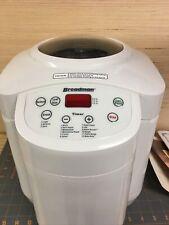 Breadman Tr555Lc Bread Maker 120V Tabletop Household Bread Maker White Tested