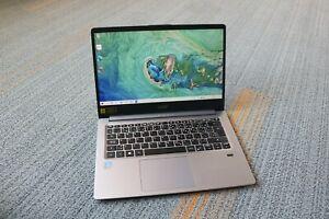 """Acer Swift 1 SF114-32 14"""" FHD, Pentium N5000, 64GB eMMC, 4GB DDR4, Win10 Laptop"""