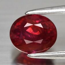 Rare! 1.15ct 6x5.2mm Oval Natural Unheated Red Ruby, Mozambique