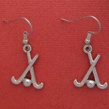 Hockey stick Earrings Charms