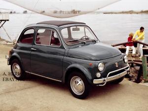 Fiat Nuova 500 1957 Cinquecento introduction new Model Year photo automobile car