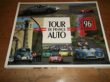 Book. Tour de France Auto 1996. 1st HB. Hillclimb, Rally & Circuit Motor Racing.
