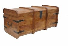 Sheesham Wood Chest Coffee Table Modern Contemporary Storage Trunk