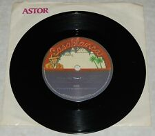 """KISS vintage 7"""" 45 Rock And Roll All Nite Live Astor Aussie Record Aucoin EX/EX+"""