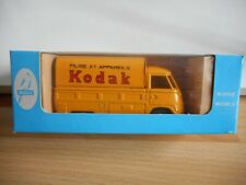 "Budgie Toys VW Volkswagen Transporter T1 ""Kodak"" in Yellow in Box"