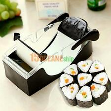 Easy Sushi Maker Cutter Roller DIY Kitchen Perfect Magic Onigiri Roll Hand Tool