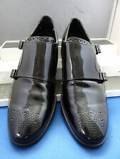 COLE HAAN USA SMART CLASSIC TWIN MOCK STRAP FORMAL SHOES UK 6 EU 40 US 7