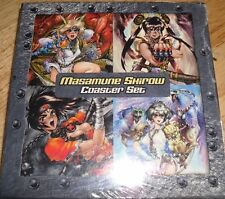 SHIROW COASTER SET Dark Horse Masamune Shirow Cyber Women ~ OOP  NEW  Sealed