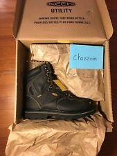 NEW Genuine Keen CSA Tacoma XT Boots Composite Toe Cascade Brown Mens Size 10 US
