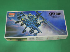 Academy Minicraft 1/72 : Hughes AH-64A Apache Attack Helicopter - Model kit 1649