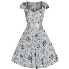 Vestiti da donna anni '50 , rockabilly floreali misto cotone
