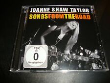 JOANNE SHAW TAYLOR - Songs From The Road CD Album + DVD 2 Disc Set RUF 1197