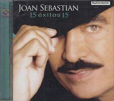 Joan Sebastian 15 Exitos CD New Sealed
