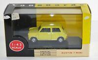 Vanguards Catalogue Edition Mini 1997 - Yellow VA13005 Diecast Toy Car