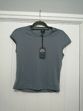Miss Sixty Basic Italy Extra Large Grey Ladies T Shirt BNWT