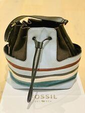 Fossil Cooper Bucket Horizon Blue