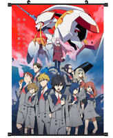 Hot Japan Anime Darling in the FranXX Poster Wall Scroll Home Decor FL978