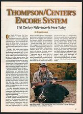 1999 THOMPSON CENTER ARMS T/C Encore Rifle System 5-page Article