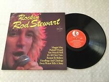 ROD STEWART ROCKIN PROMO K-TEL AUSTRALIAN PRESS LP