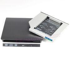 External USB 3.0 Enclosure For 9.5mm Slim SATA CD/DVD-ROM + SATA3 2nd HDD Caddy