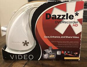 Dazzle DVD Recorder HD Save Enhance Share Capture Video Pinnacle Studio EUC