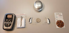 2 Digital Hearing Aids Siemens Motion S 701 Open Fitting+Bluetooth Remote
