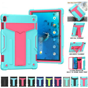 Kids ShockProof Hard Stand Case Cover For Lenovo Tab M8 M10 HD FHD Plus P11 Pro