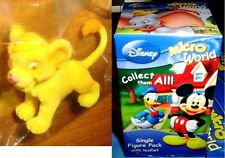 Disney Micro World - SIMBA SINGLE FIGURE PACK IL RE LEONE