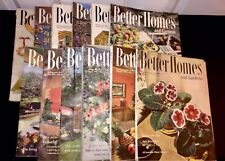 Vintage BETTER HOMES & GARDENS Magazine 12 Issues Jan - Dec 1951  Great Ads!