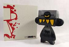 "MAD*L MADL DIY 10"" BLACK Toy Design Urban Vinyl 2008 CANDYMON Signed! Super RARE"