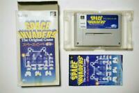 Super Famicom Space Invader boxed Japan SFC game US Seller