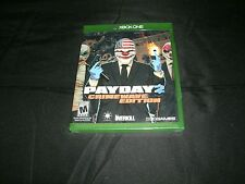 Payday 2: Crimewave (Microsoft Xbox One, 2015) Brand New Factory Sealedro