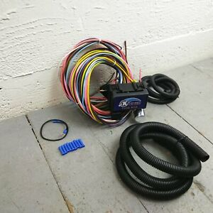 1951 and earlier Ford Truck 8 Circuit Wire Harness fits painless complete new