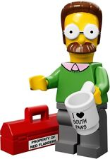 Lego The Simpsons Collectible Minifigures Ned Flanders NEW CMF