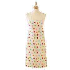 Cooksmart 100% Cotton Adult Apron with Pocket - Spots Spotty Dots Design