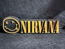 Nirvana Action Figure Idea Regalo Nerd Geek Collezione Logo Gadget Kurt Cobain