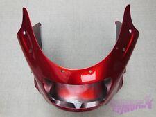 ABS Unpainted Upper Fairing Cowl For Kawasaki ZZR1100 1993-2001 99 01 94 95 96
