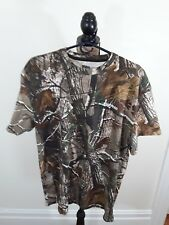 Rusell outdoor t shirt size xl realtree camo print