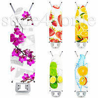 FRUIT Thick Foam Back LUXURY Ironing Board Cover 100% COTTON Easy Fit New MODERN