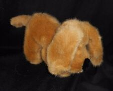 "12"" VINTAGE LUIGI AMANI GOLDEN RETRIEVER TAN PUPPY DOG STUFFED ANIMAL PLUSH TOY"