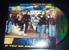 New Kids On The Block If You Go Away Australian Card Sleeve CD Single