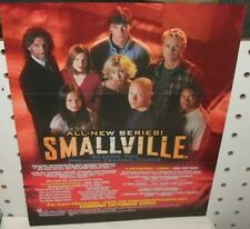 SMALLVILLE SEASON TWO  TRADING CARDS - PROMOTIONAL SELL SHEET  8 1/2 x11