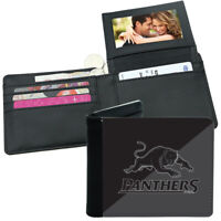 NRL Mens Wallet - Penrith Panthers - 12x10cm - Fits 10 Card + Notes - Sublimated