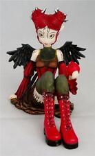 Nemesis Now Myka Jelina ABIGAIL TEENAGE FAIRY FIGURINE Goth Angel Faerie Pixie